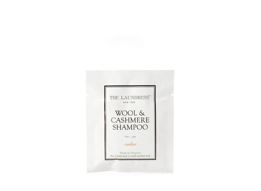 THE LAUNDRESS WOOL & CASHMERE SHAMPOO SACHET