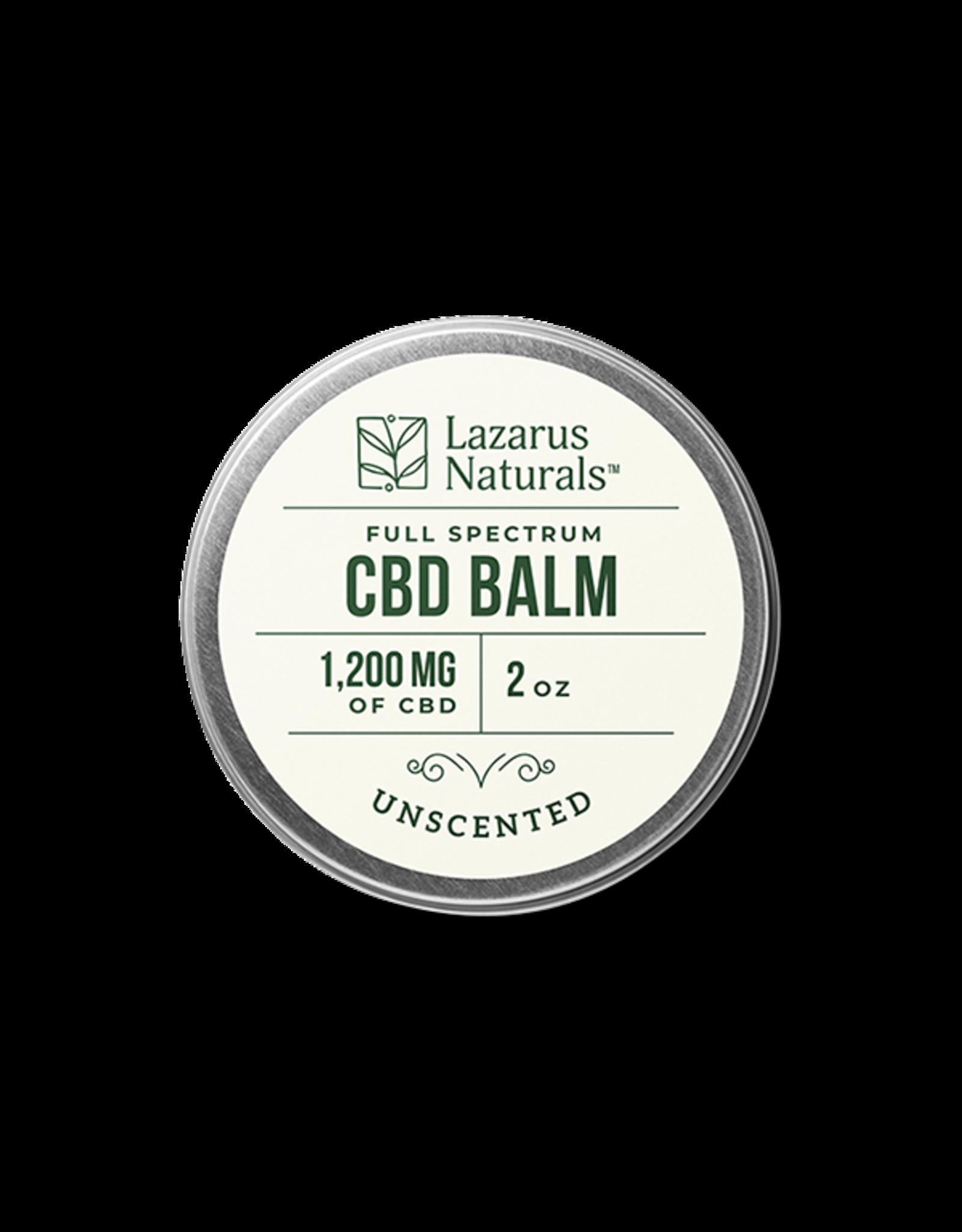 Lazarus Naturals Lazarus Naturals unscented balm 1200 mg