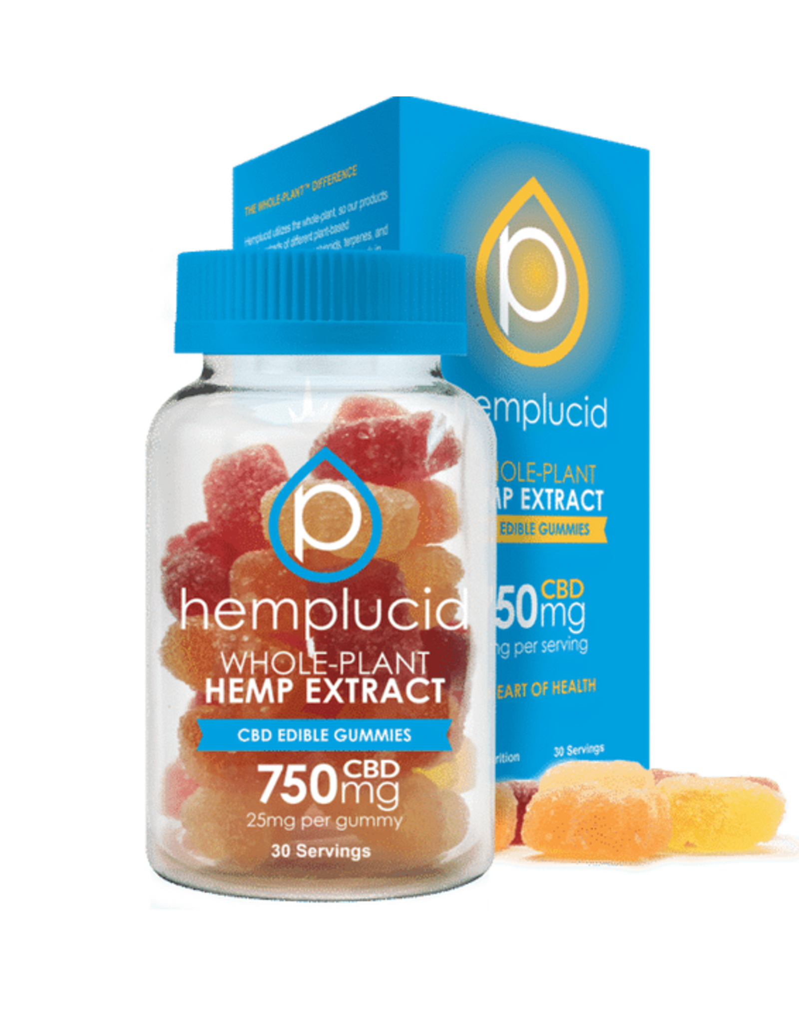 Hemplucid Hemplucid gummies 750 mgs 30ct