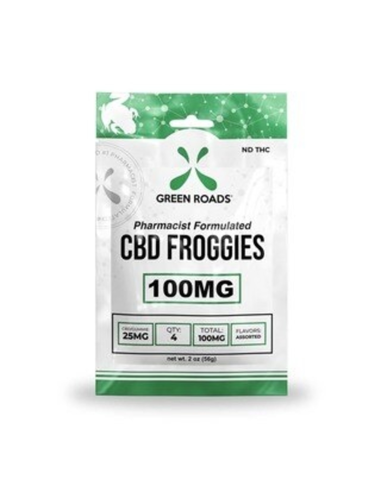 Green Roads Green Roads CBD froggies 100 mg sweet