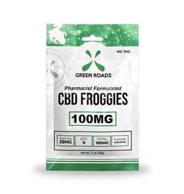 Green Roads Green Roads CBD froggies 100 mg sweet