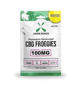 Green Roads Green Roads CBD froggies sour 100mg 4ct
