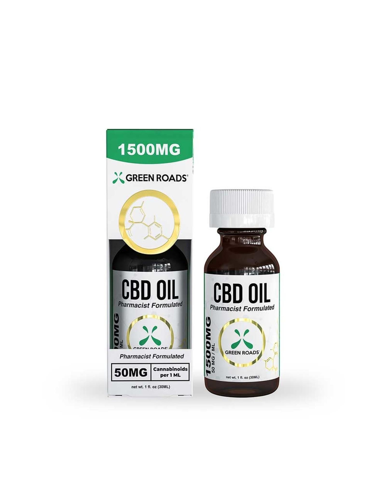 Green Roads Green Roads 1500mg Oil (30ml)