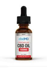 CBD MD CBD md tincture drops 30ml mint 1500mg