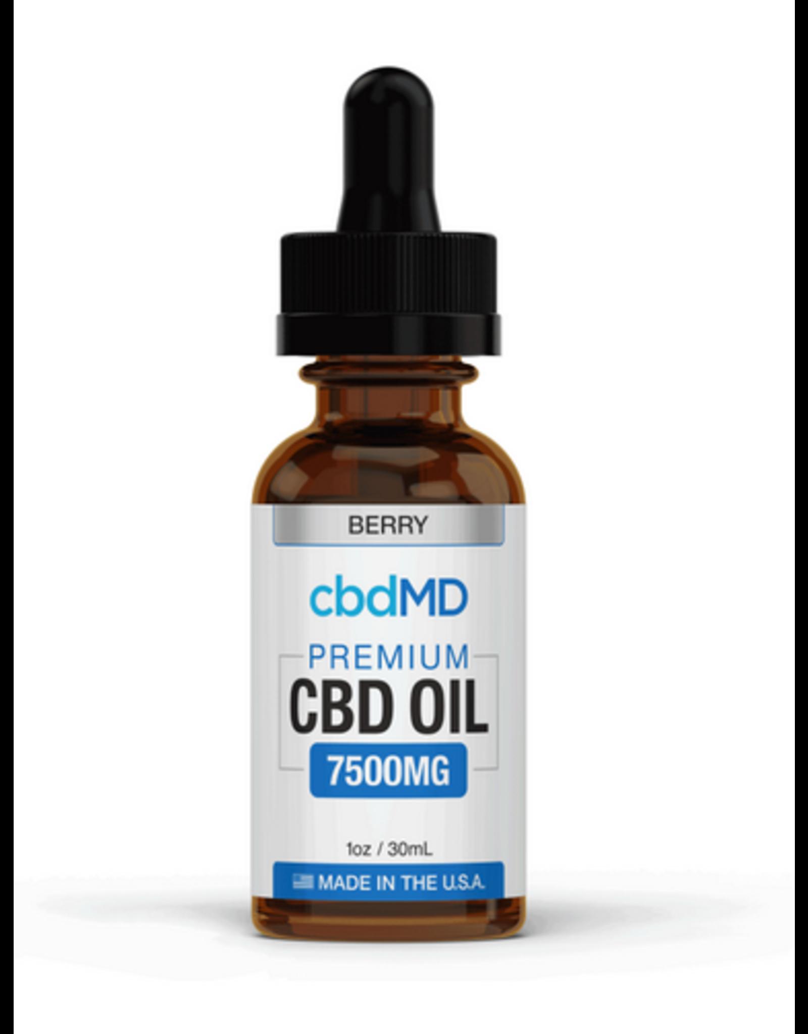 CBD MD Cbd md 7500 berry oil