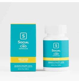 social cbd recover capsules