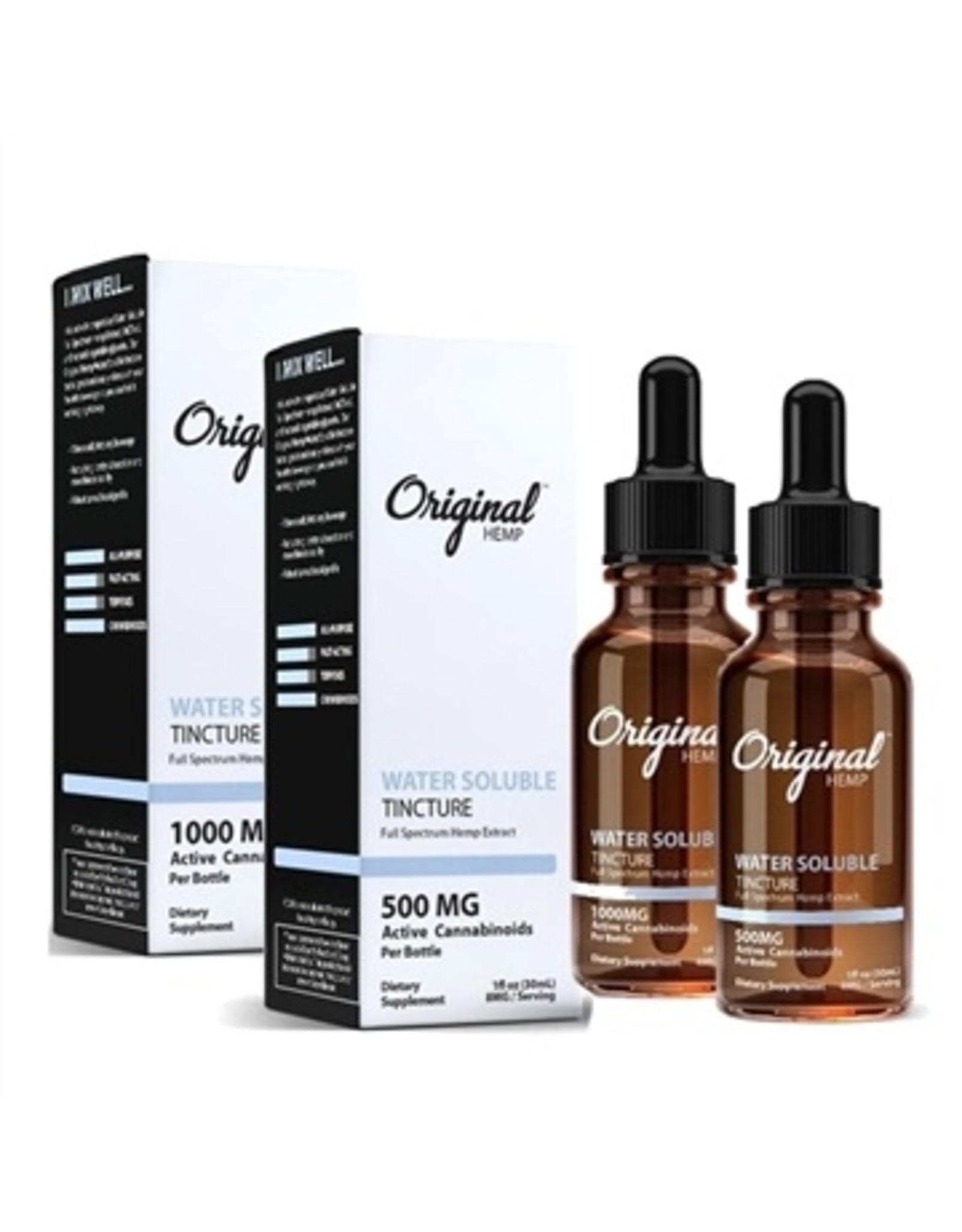 orginal hemp water soluble 500mg