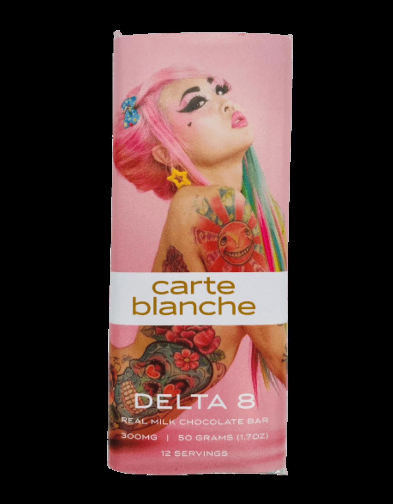 Carte blanche delta 8 chocolate bar 300mg