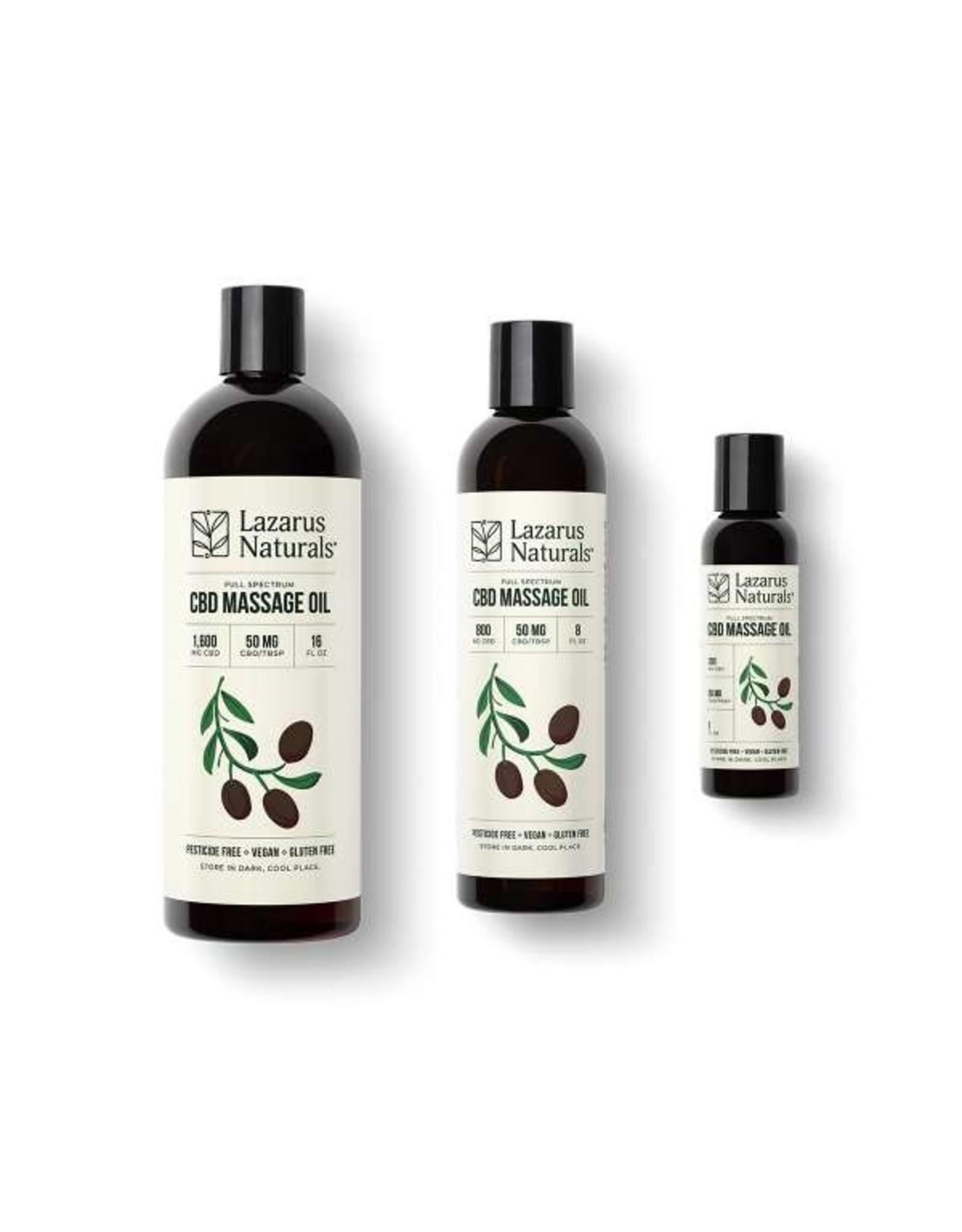 Lazarus Naturals 16fl massage oil