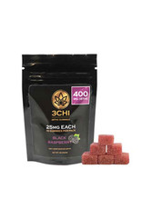 3chi black raspberry d8 gummies 16 count