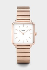 Cluse Montre Tétragone Single Link Rose