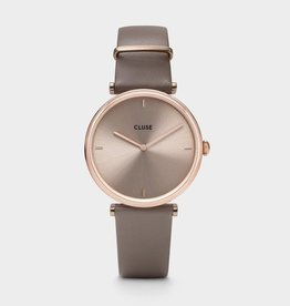 Cluse Montre Triomphe Cuir Taupe