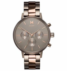Mvmt Montre ORION - Gris & or rose