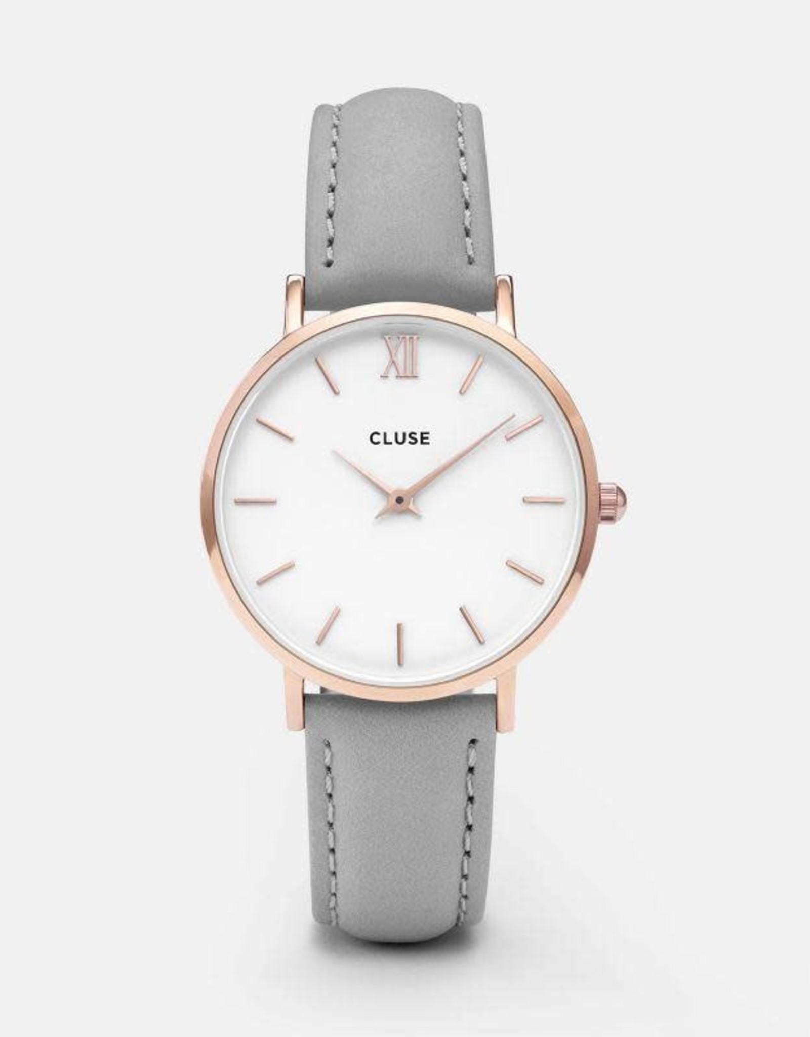 Cluse Montre Minuit Gris