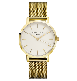 Rosefield Montre Mercer Mesh Gold