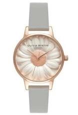 Olivia burton Montre 3D Daisy Grey & Rose