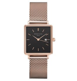 Rosefield Montre Boxy Mesh RG