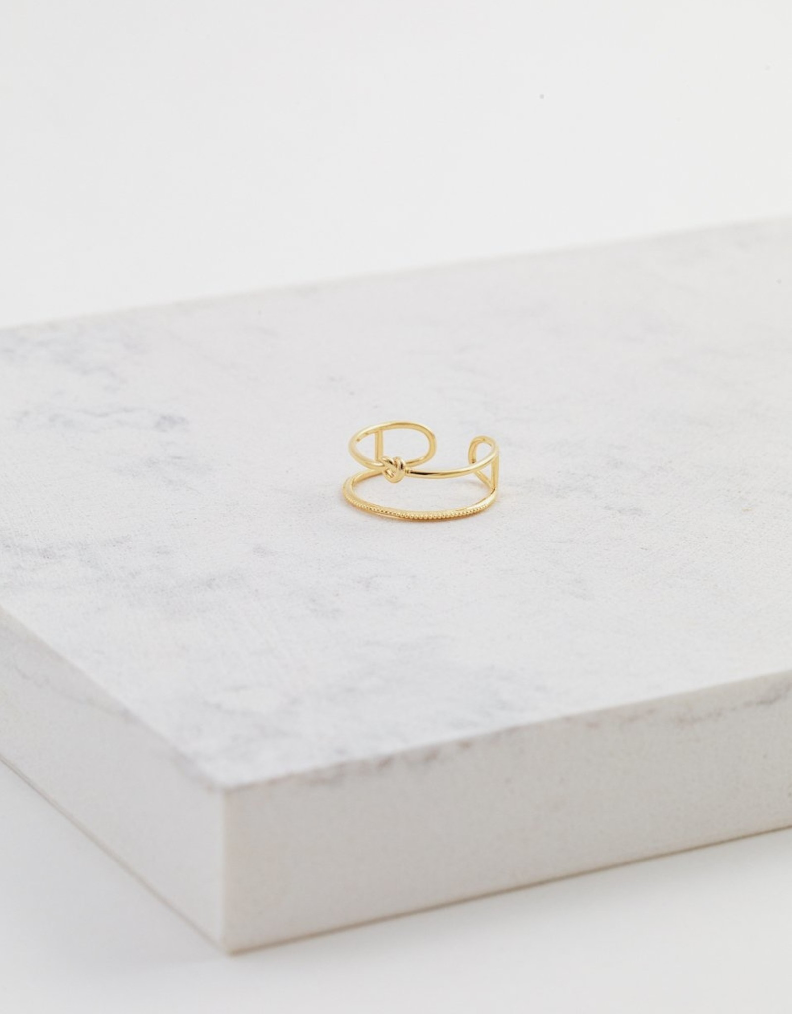 Lover's tempo Bague Knot Gold