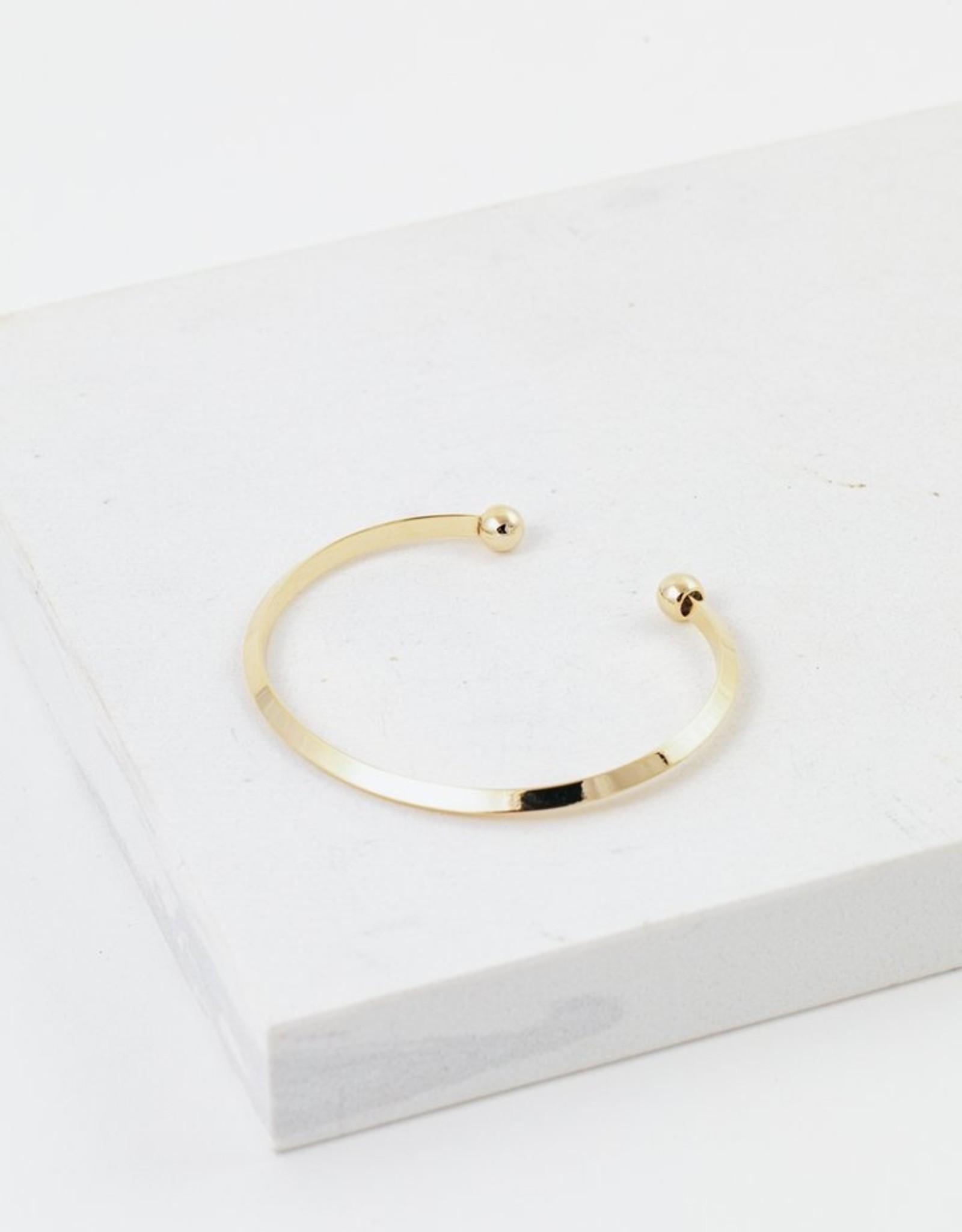 Lover's tempo Bracelet Hemisphere Gold