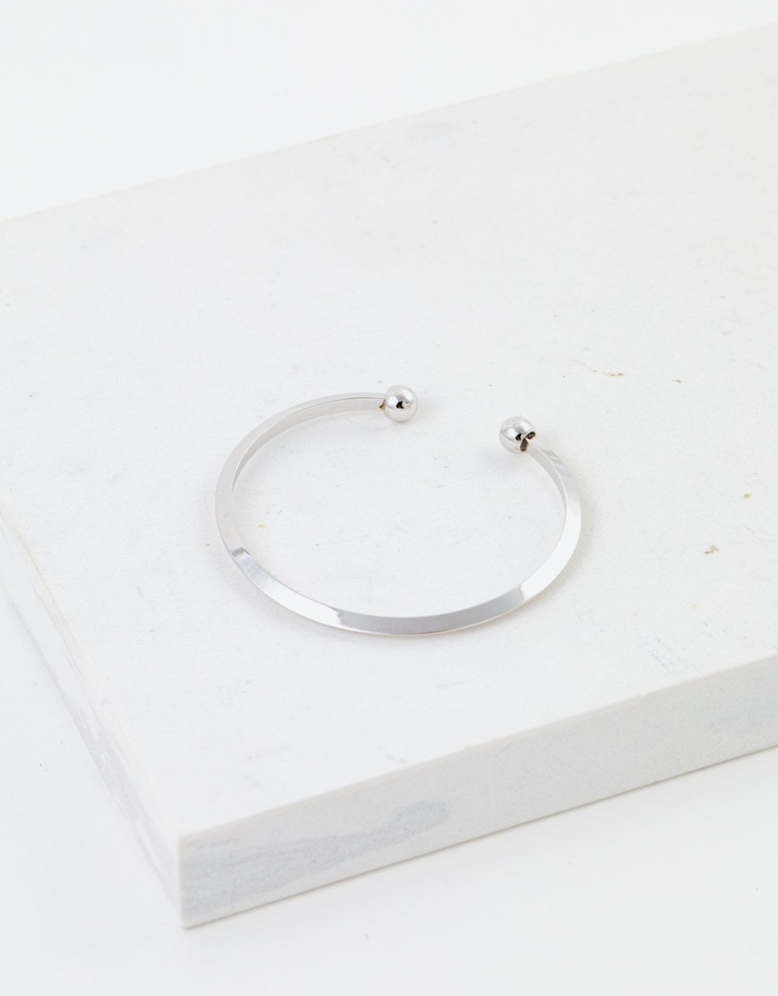 Lover's tempo Bracelet Hemisphere Silver