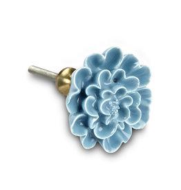 Poignée Fleur Bleue