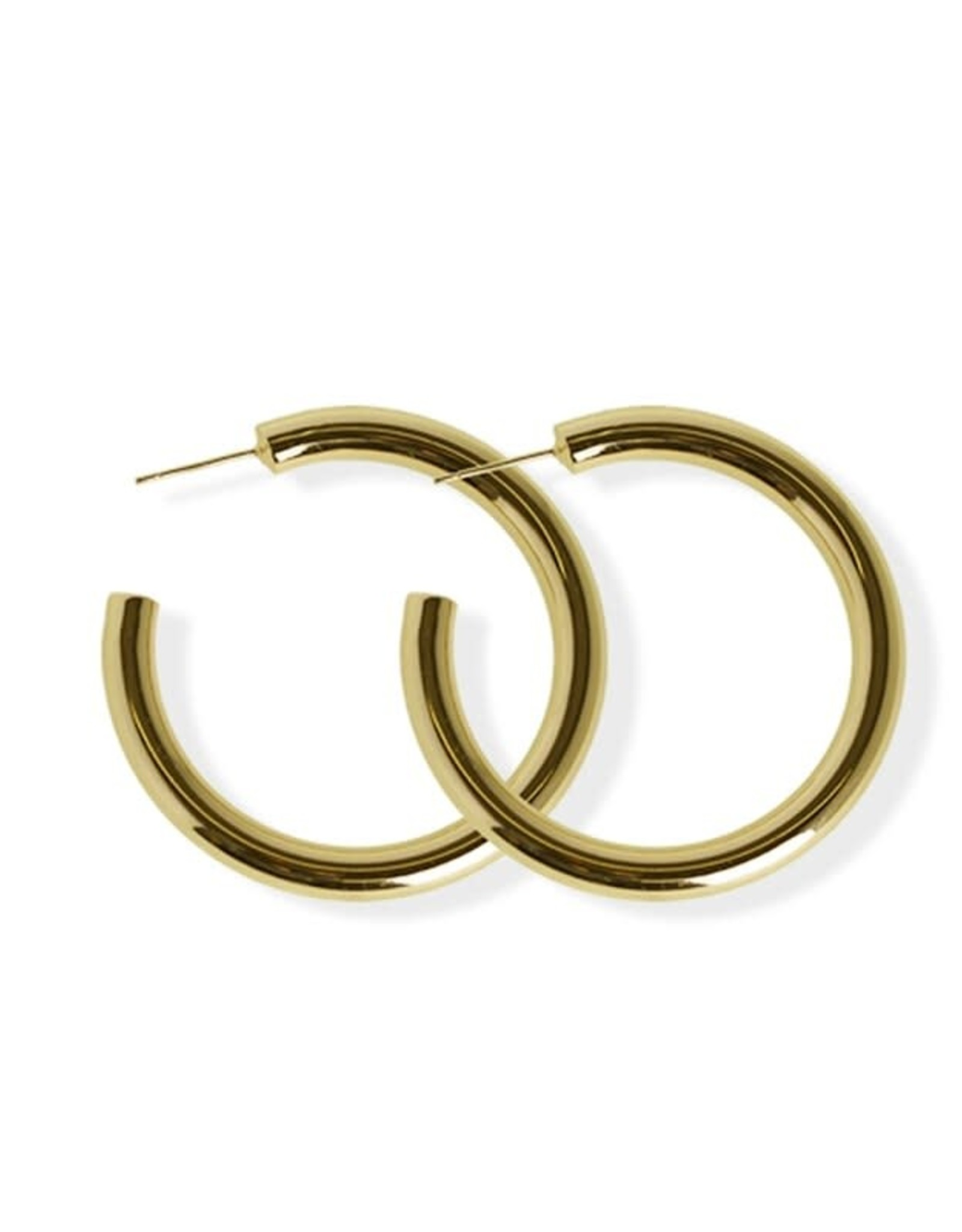 Fab accessories Anneaux épais 40mm en acier inoxydable - Or