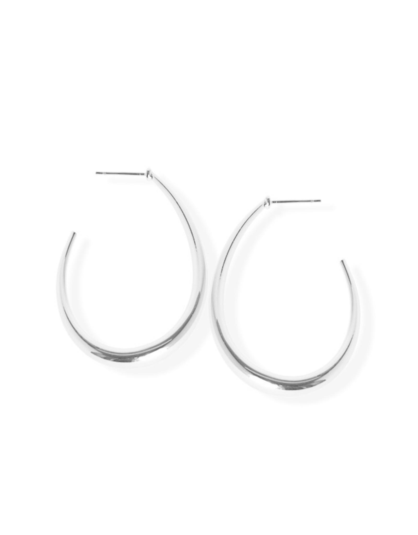 Fab accessories Boucle d'oreilles - Anneaux en acier inoxydable