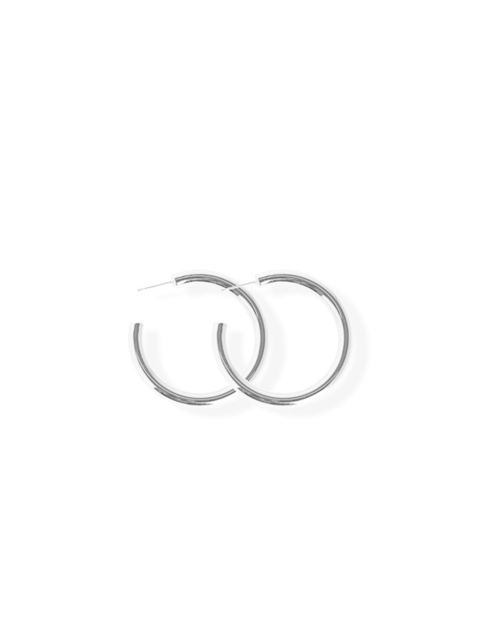 Fab accessories Boucle d'oreilles - Petit anneaux en acier inoxydable