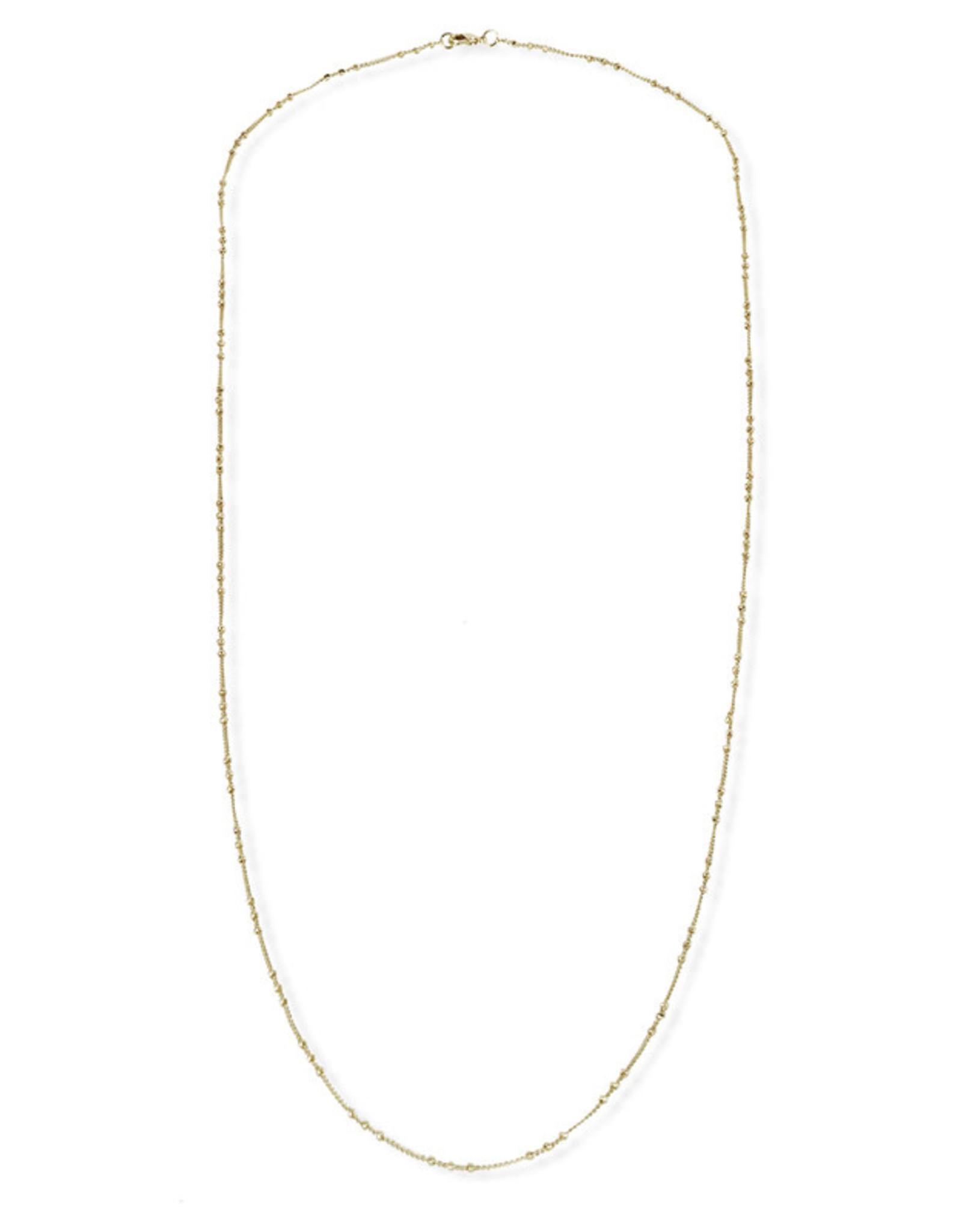 Fab accessories Collier Versatile en laiton plaqué