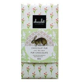Barre de chocolat pour Pâque - Lait biologique 38%