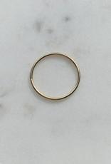 Le Petit bijou de Paris Bague - Jonc extra fine doublée or