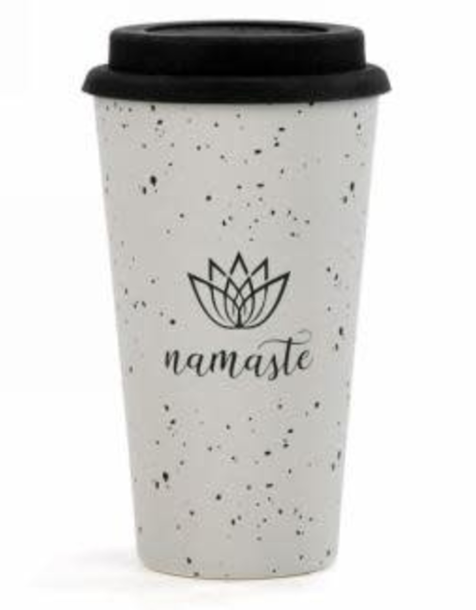 Tasse de voyage en Bambou - Namaste