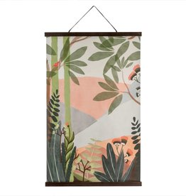 Grande affiche en lin - Tahitian Sunrise