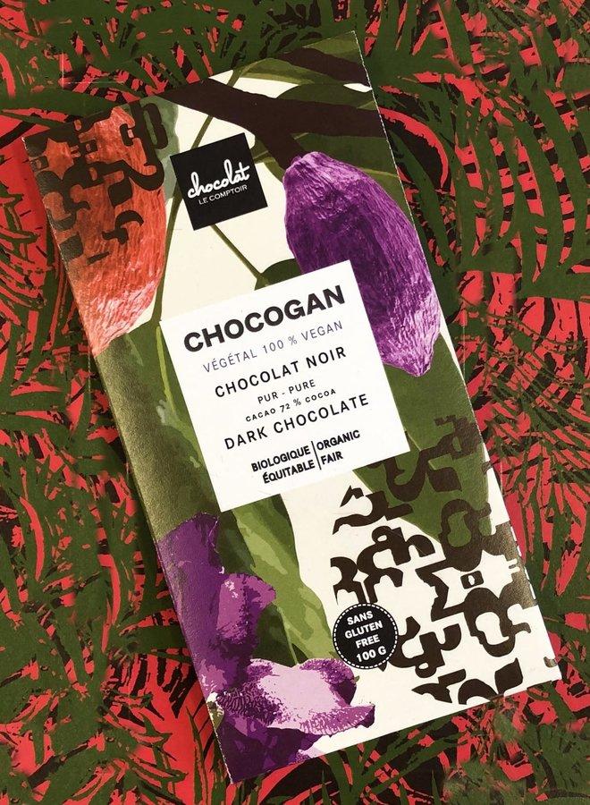 CHOCOGAN - Chocolat noir 72%