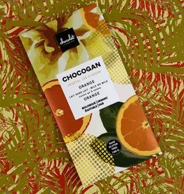 Le comptoir chocolat CHOCOGAN - Chocolat au lait 40%  - Orange