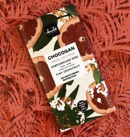 Le comptoir chocolat CHOCOGAN - Chocolat noir 72% - Pamplemousse