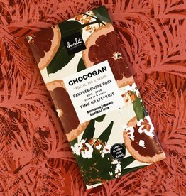 Le comptoir chocolat CHOCOGAN - Chocolat noir - Pamplemousse