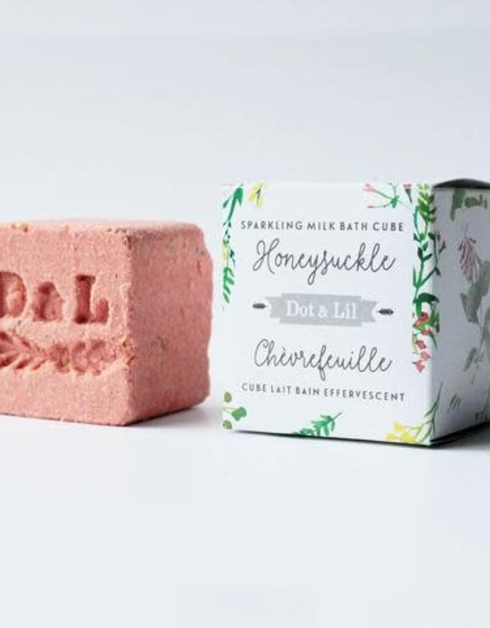 Dot & lil Bombe de bain Chèvrefeuille