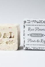 Dot & lil Bombe de bain Fleur de riz