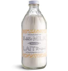 Dot & Lil Lait de bain moussant - Thé blanc et gingembre