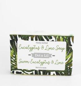 Dot & lil Pain de savon - Eucalyptus & Lime