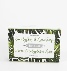 Dot & lil Savon Eucalyptus & Lime