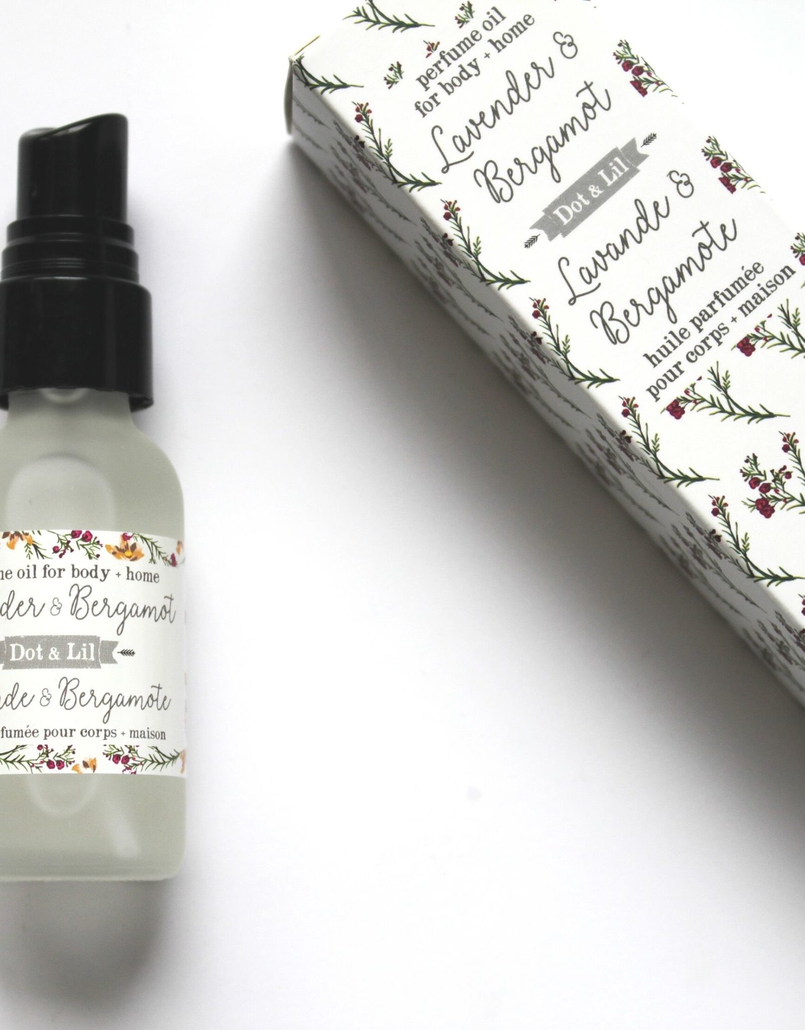 Dot & lil Huile parfumée Lavande & Bergamote