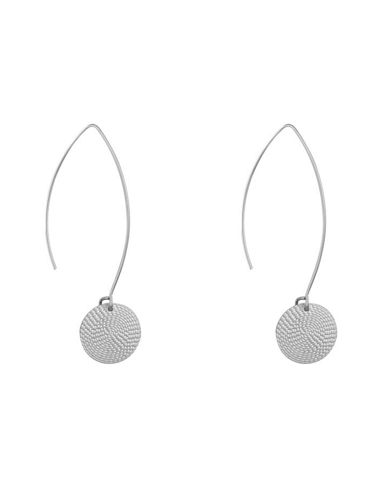 Lost & Faune Boucles d'oreilles -  Ovales avec pendentifs