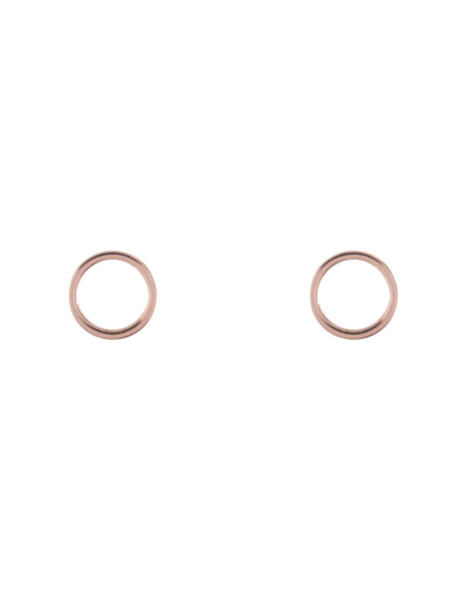 Lost & Faune Boucles d'oreilles - Cercles vides sur tiges