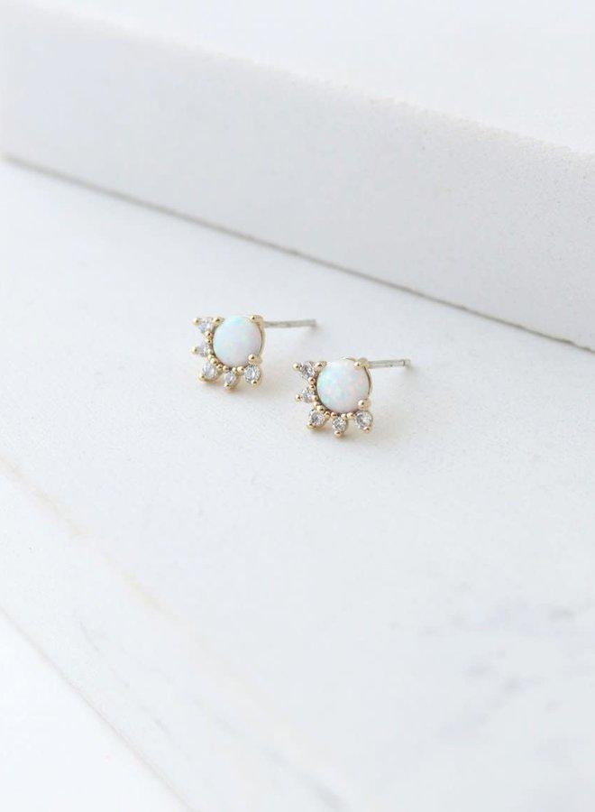 Boucles d'oreilles - Juno - Plaqué or