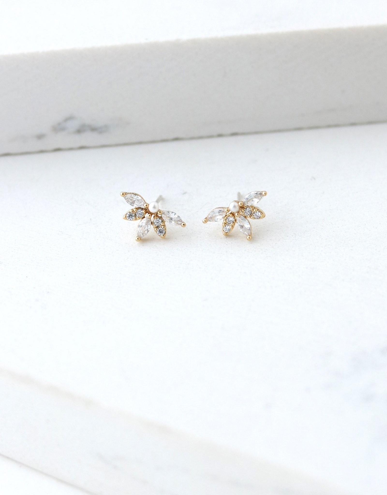 Lover's tempo Boucles d'oreilles HARLOWE - Perle