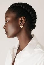 Lover's tempo Boucles d'oreilles - Disc-o nacre de perle
