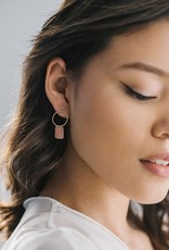 Lover's tempo Boucles d'oreilles - Olympia chaines roses