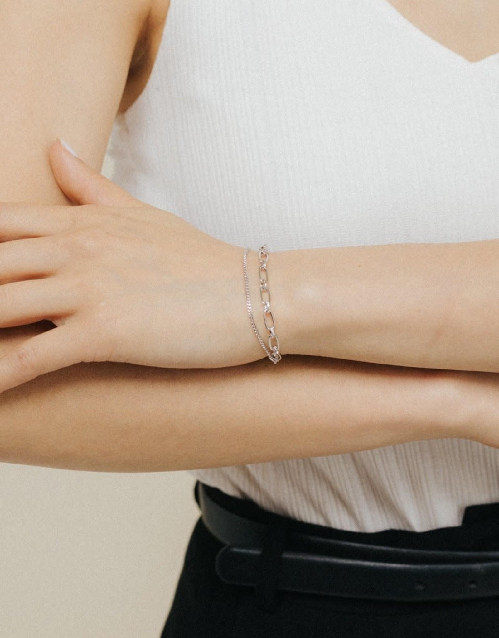 Lover's tempo Bracelet - Aya mailles 2 rangs